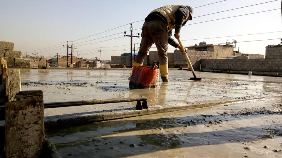 Rehabilitation of Shelters, Rehabilitation of Water Treatment Plants and Water Networks, WASH in schools, Hygiene Trainings in schools and Provision of NFI Kits in Mosul.