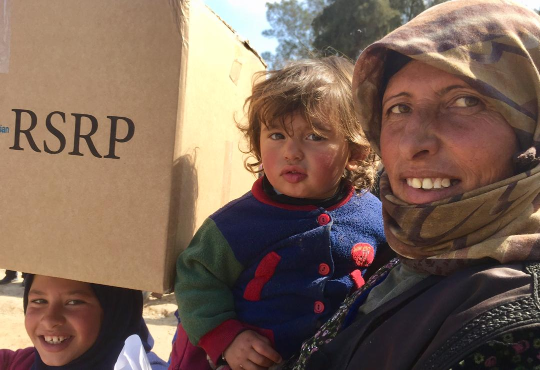 Emergency provision of  winter clothing kits to the affected population in Deir-ez-Zor Governorate