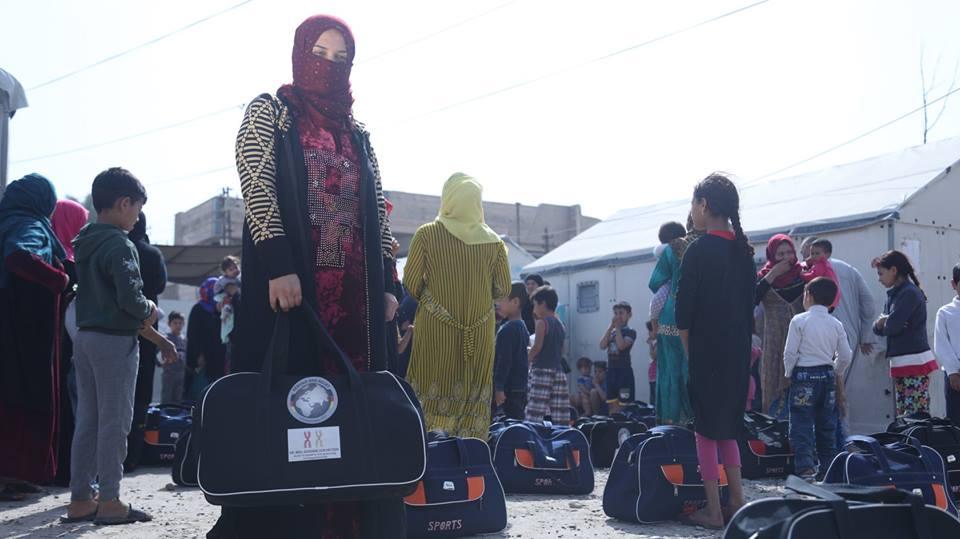 Emergency WASH response for IDP's in Haj Ali Camp in Mosul, Ninewa