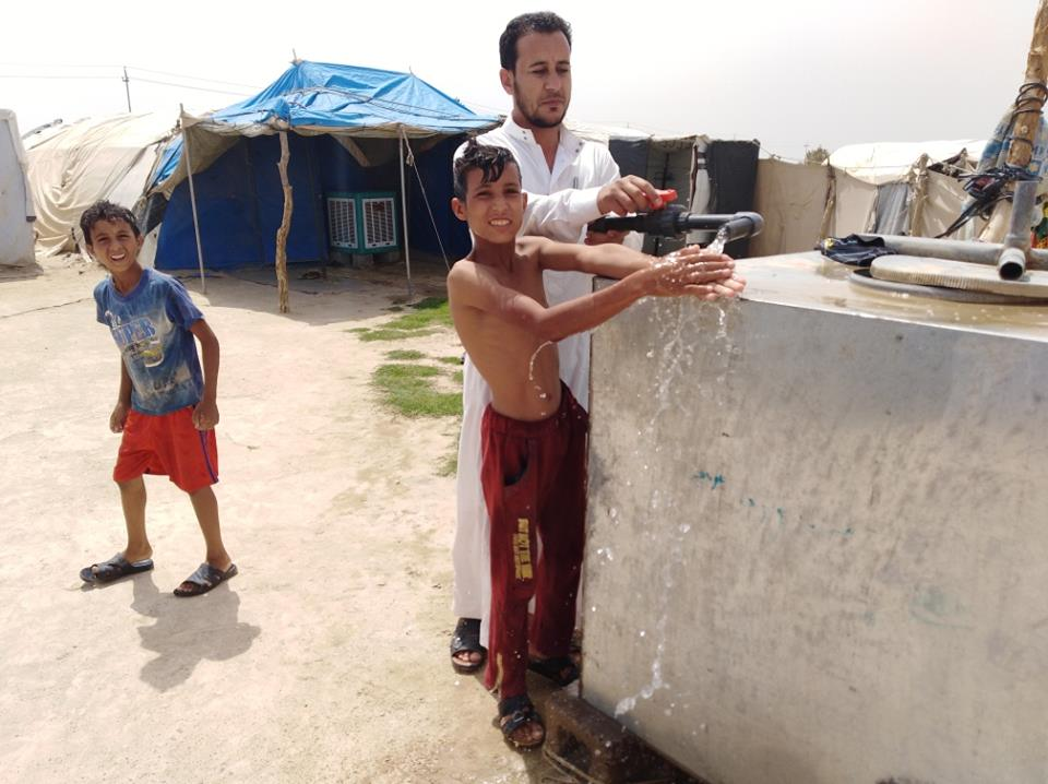 Emergency WASH assistance for 72,000 IDP's in formal camps and screening sites of Ninewa  and Salah-al-Din