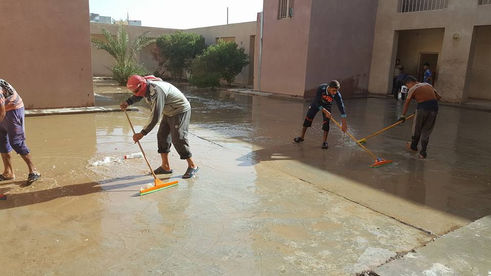 Rehabilitation of 70 community centers as an emergency response for IDPs in Baghdad and Wassit